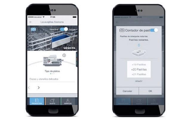 La app Home Connect de Siemens permite que el lavavajillas esté siempre listo